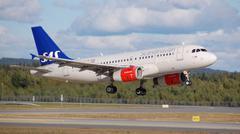 SAS airbus Stock Photos