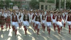 Stock Video Footage of Folk dance