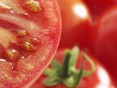 Tomatoes (close-up) - stock photo