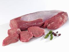 Stock Photo of Fresh fillet of beef