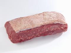 Fresh joint of beef - stock photo