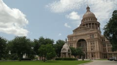 Texas State Capitol building Austin, TX (Texas) - stock footage