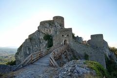 Medieval castle in Srebrenik, Bosnia and Herzegovina Stock Photos
