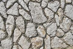 Image of stone rock texture wall. background closeup - stock photo