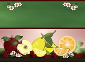 Stock Illustration of Fruits for health green