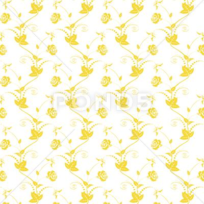 Stock Illustration of rose pattern