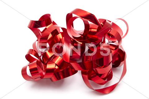 Stock photo of red ribbon