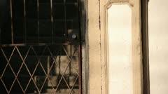 Door, textures. - stock footage