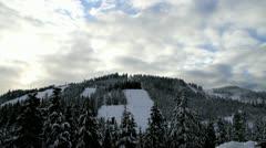 Cypress Ski Mountain Stock Footage