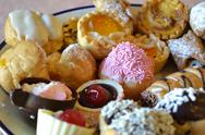 Stock Photo of colorful pastry