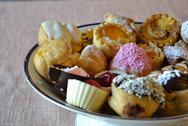 Stock Photo of pastries in a bowl