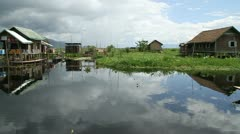 Burma Inle Lake 45 Stock Footage