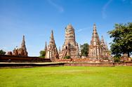 Stock Photo of wat chai wattanaram, ayutthaya, thailand