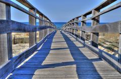 hdr bridge - stock photo