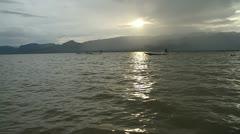 Burma Inle Lake 36 Stock Footage