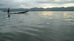 Stock Video Footage of Burma Inle Lake 33