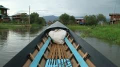 Burma Inle Lake 28 - stock footage