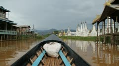 Burma Inle Lake 27 Stock Footage