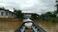 Burma Inle Lake 16 - stock footage