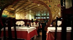 Chinese restaurant Stock Footage