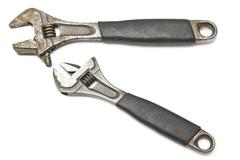 Adjustable wrench Stock Illustration