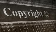 Stock Illustration of copyright message concept