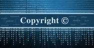 Copyright message concept Stock Illustration