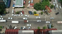 Burma Traffic 3 Stock Footage