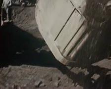 1946 - iron ore mining Stock Footage