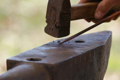blacksmith - stock photo