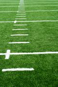 astro turf football field - stock photo