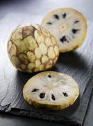 Stock Photo of Cherimoya (Annona cherimola)