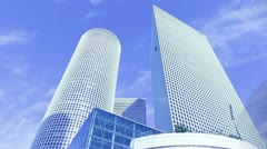 Time lapse buildings 00 Stock Footage