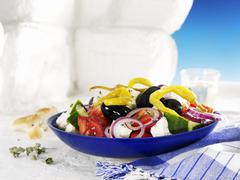 Kreikkalainen salaatti Kuvituskuvat