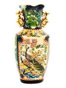 Green vase Stock Photos