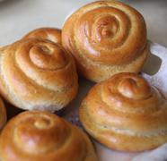 Stock Photo of Baked buns