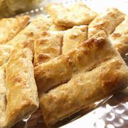 Bizchochos Dulces de Hojaldre; Argentine Sugar Glazed Pastries Stock Photos