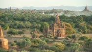 Stock Video Footage of Bagan Sunset 1
