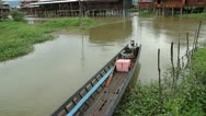 Stock Video Footage of Inle Boat 4