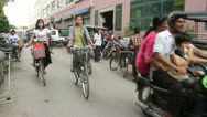 Stock Video Footage of Mandalay Traffic 4