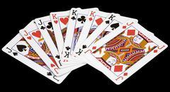 card jacks and kings - stock photo