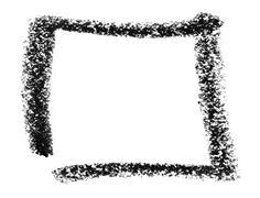 square sketch - stock photo