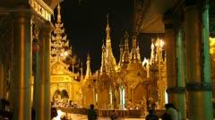 Burma Buddha 14 Stock Footage