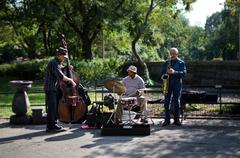 Central Park West Jazz Band Kuvituskuvat