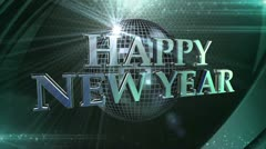 New Years Loop Background - stock footage