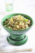 Lentil salad with lemons Stock Photos