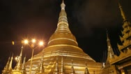 Burma Pagoda 7 Stock Footage