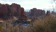 Stock Video Footage of Arches National Park 05
