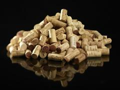Stock Photo of A pile of corks
