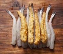 Fried kau fish Stock Photos